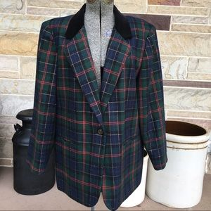 Sag Harbor Jackets & Coats - Sag Harbor Wool Blend Blazer